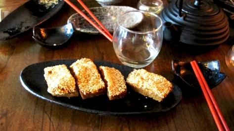 Rye Prawn Toast