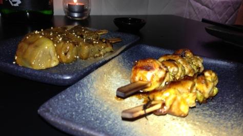 Chicken & Eggplant Kushiyaki