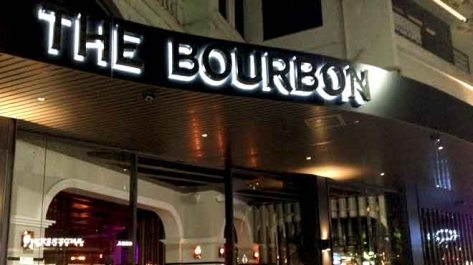 Bourbon Sign