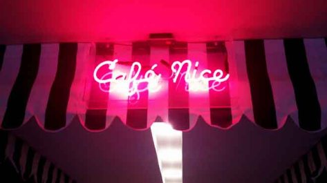 Cafe Nice Neon Sign