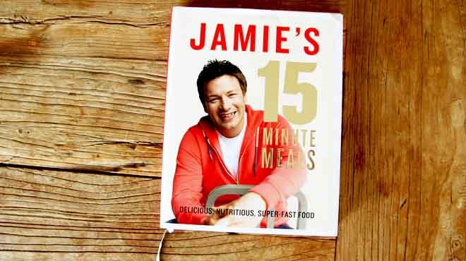 Jamie s 15 minute meal challenge nibble slurp - Jamie en 15 minutes ...