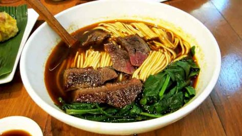 Noodles with Chargrilled Wagyu Beef dipped in a Sichuan Spicy Sauce