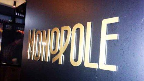 Monopole Sign