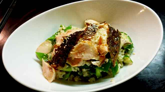 Salmon & Brown Rice Salad