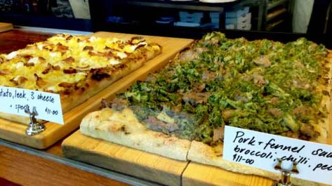 Cipro Pizza Display