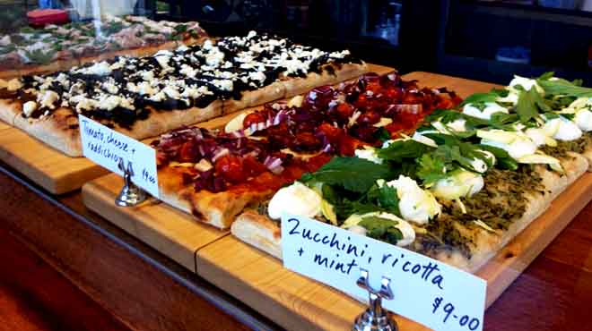 Cipro Pizza Display