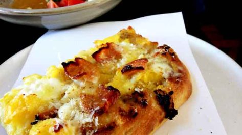 Cipro Three Cheeze Pizza with Potato & Speck
