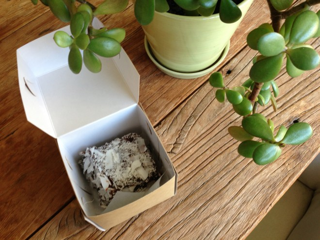 Flour and Stone Lamington in a Box