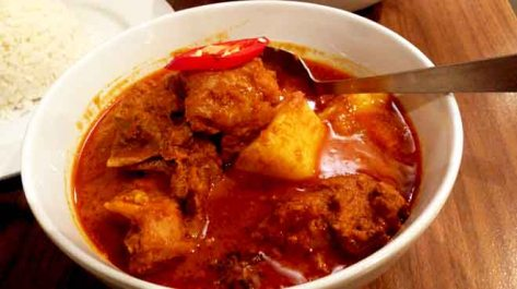 Mamak Chicken Curry