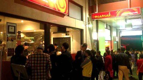 Online at Mamak