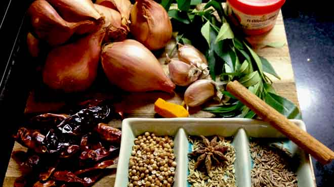 Nonya Chicken Curry Ingredients