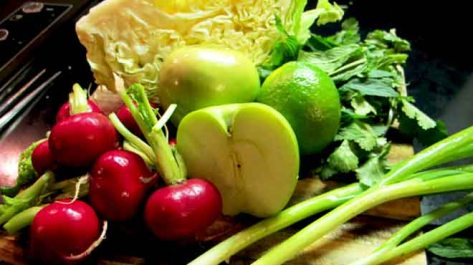 Apple Slaw Ingredients