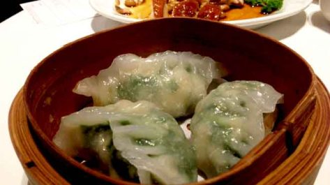 Garlic & Chive Dumplings