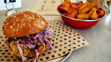 Chur Pulled Pork with Sweet Potato Fries