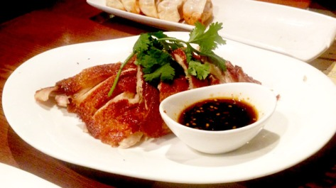 New Shanghai Crispy Skin Chicken